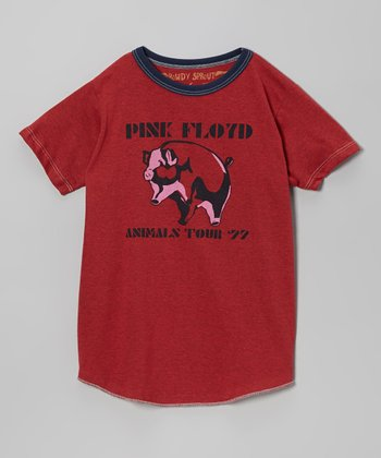 Heather Red 'Pink Floyd' Tee - Infant, Toddler & Kids