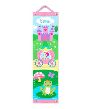 Pink-Haired Princess Personalized Growth Chart