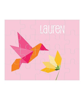 Hummingbird Personalized Puzzle