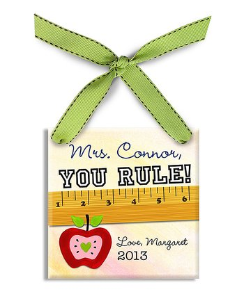 'You Rule!' Personalized Ornament