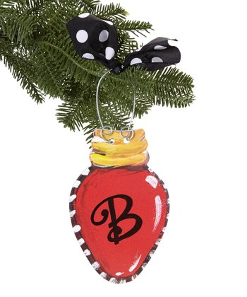 Christmas Light Personalized Ornament