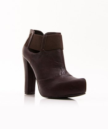 Dark Brown Dayna Bootie