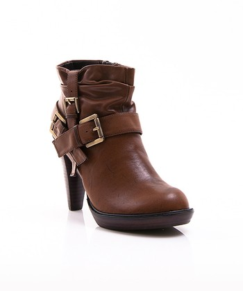 Brown Ginevra Bootie