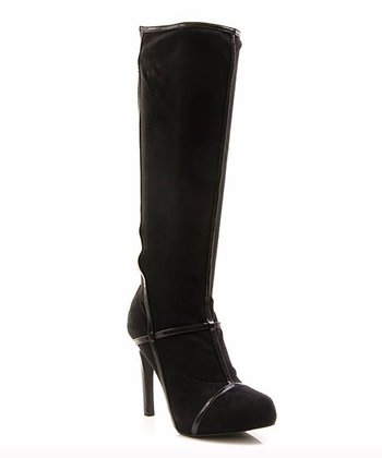 Black Strap Prom Night Boot