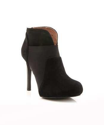 Black Mod Prom Night Bootie