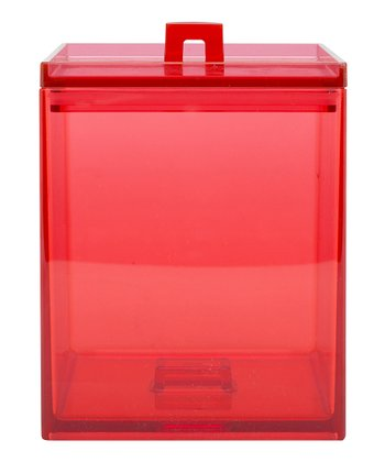 Red MeeMe 1.6-Qt. Stacking Canister