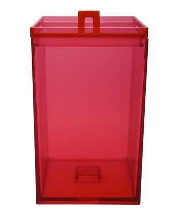 Red MeeMe 2.25-Qt. Stacking Canister