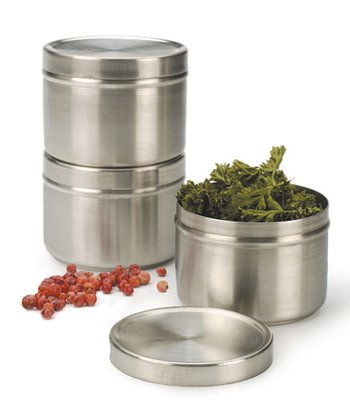 Stackable Spice Can - Set of Three