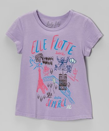 Lavender Motto Tee - Toddler & Girls