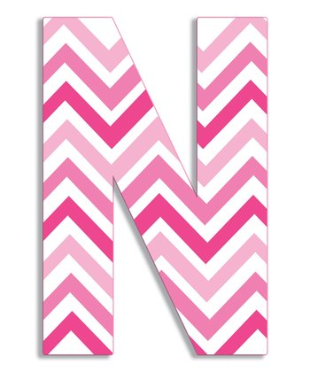 Pink Zigzag 'N' Wall Art