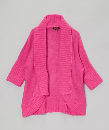 Rose Revival Open Cardigan - Toddler & Girls