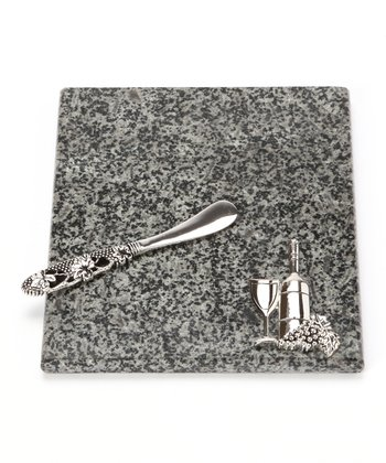 Granite Cheese Board & Spreader