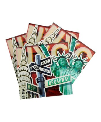 NYC Coaster - Set of Four