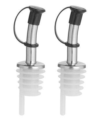 Stainless Steel Pourers, Set of 2