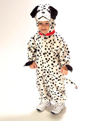 White & Black Dalmatian Doggie Dress-Up Set - Toddler & Kids