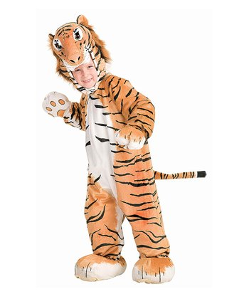 Orange Tiger Cub Dress-Up Set - Toddler