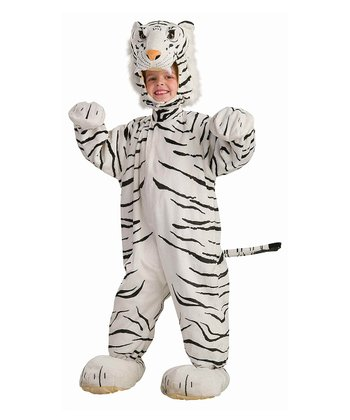 White Tiger Cub Dress-Up Set - Toddler