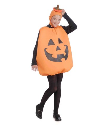 Orange Jack-O-Lantern Dress-Up Set - Women