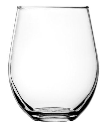 Vienna Stemless Red Wine Glass - Set of Four