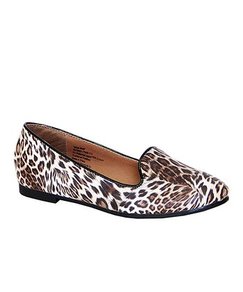 Brown Leopard Moon Walk Flat