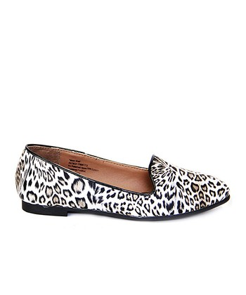 Black Leopard Moon Walk Flat