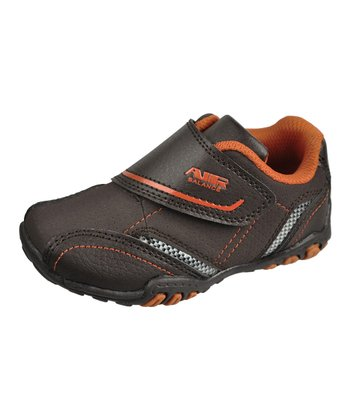 Brown & Orange Cross-Trainer Sneaker