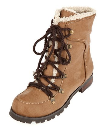 Brown Welda Ankle Boot - Women