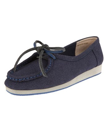 Navy Shaiene Loafer - Women