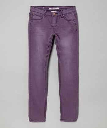 Gothic Grape Tulsa Skinny Jeans - Girls