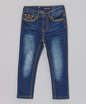 Blue Wash Classic Skinny Jeans - Toddler