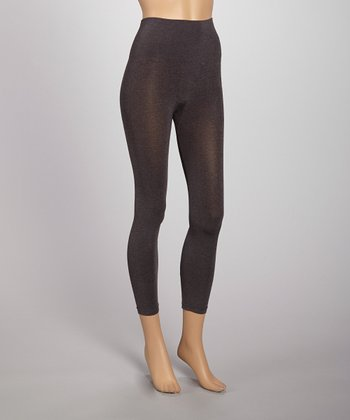 Heather Charcoal Seamless Shaper High-Waist Leggings