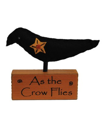 'As The Crow Flies' Crow Block