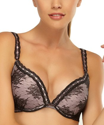 Black Lust Plunge Bra - Women