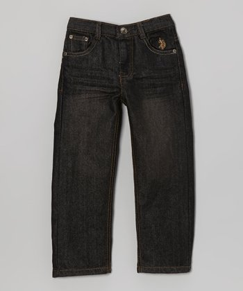 Medium Wash Straight-Leg Jeans - Toddler