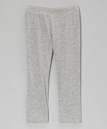 Heather Gray Leggings - Toddler & Girls