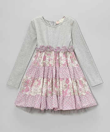 Blush Maggie Dress - Toddler & Girls
