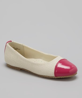 Fuchsia Color Block Flat
