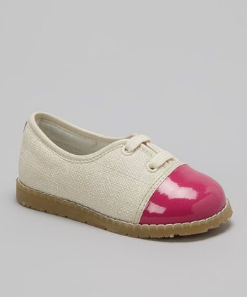 Fuchsia Color Block Oxford
