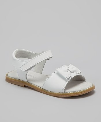 White Bow Sandal