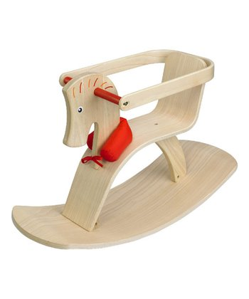 Riding Pino Wooden Rocking Horse