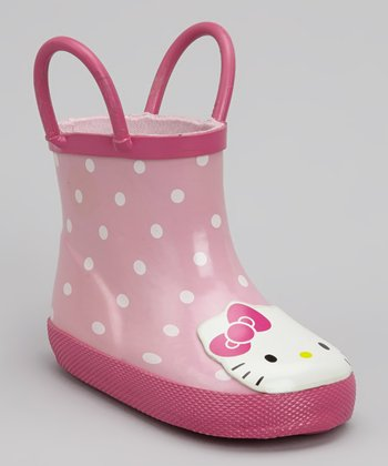 Pink Hello Kitty Rain Boot
