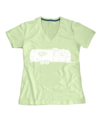 Lime Airstream Organic Tee - Women