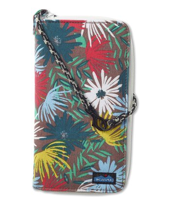 Island Bloom Clutchable Wallet