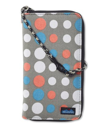Dandy Dot Clutchable Wallet