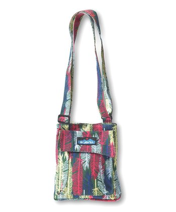 Fall Feathers Mini Keeper Crossbody Bag