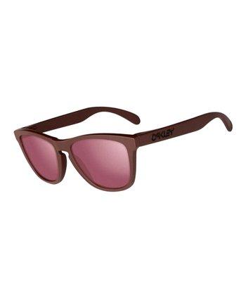 Oakley Basin Red Frogskins Sunglasses - Men & Women