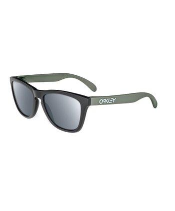Oakley Matte Black Frogskins Sunglasses - Men & Women