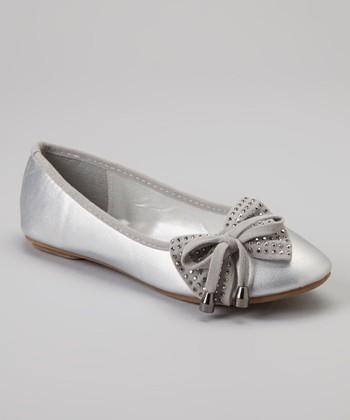 Silver Stud Cupcake Mary Jane