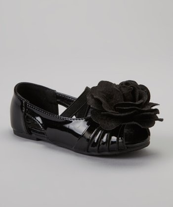 Black Patent Cupcake Mary Jane