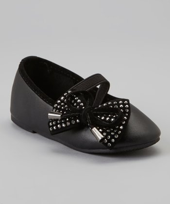 Black & Silver Stud Cupcake Mary Jane